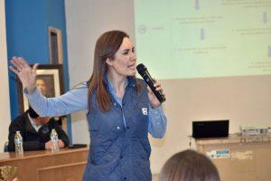 Critica Rocío Reza Guardia Nacional que aprobó el PAN