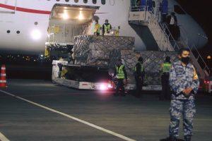 Llega décimo vuelo de China con ventiladores e insumos médicos para el combate al COVID19