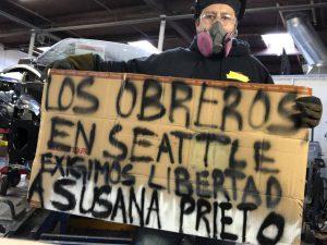 Piden sindicatos de Estados Unidos a México respetar derechos laborales tras arresto de Susana Prieto