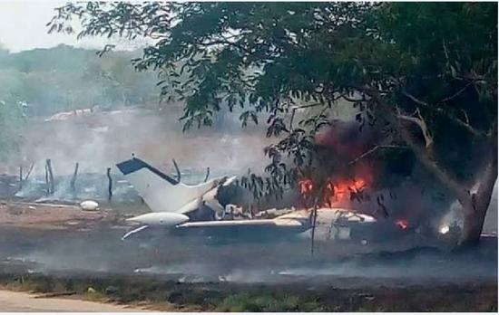 Tenían como destino Guasave, en Balleza se desplomó la aeronave; seis personas muertas