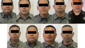 Vinculan a proceso a nueve policías estatales