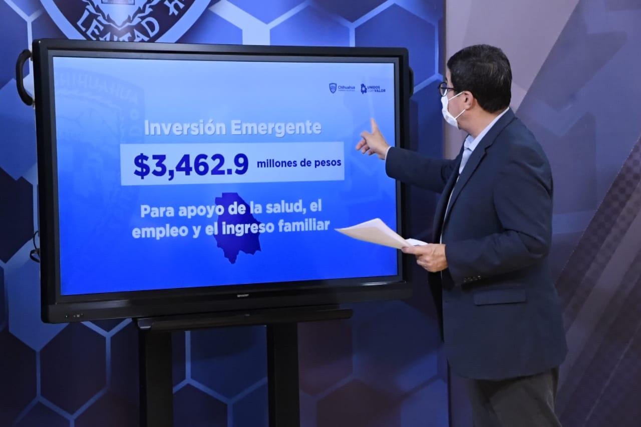 Se incrementa el fondo del Plan Emergente a 3 mil 462.9 mdp