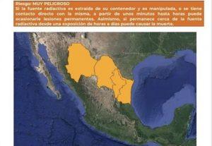 Alerta por fuente radioactiva que se perdió en Texas