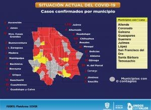Contagios por COVID-19 en Chihuahua podrían ser 10 mil o más