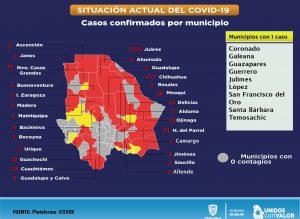 En ascenso contagios por COVID-19, van 2,439