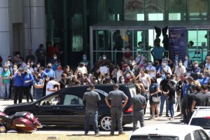 Despiden a Blas Jiménez, protegió a sus compañeros tras explosión en hospital infantil