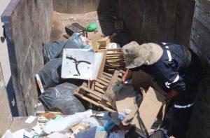 Retira Gobierno Municipal casi 50 toneladas de basura al sur de la ciudad