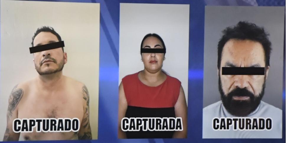 Captura la Fiscalía del Estado a 3 presuntos secuestradores