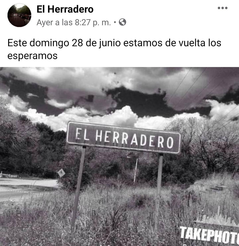 Regresa «El Agarradero», tras pandemia por Covid