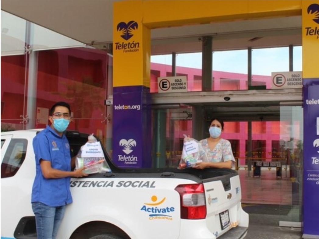 Apoya Gobierno Municipal con kits de aseo personal a Centro Respiratorio