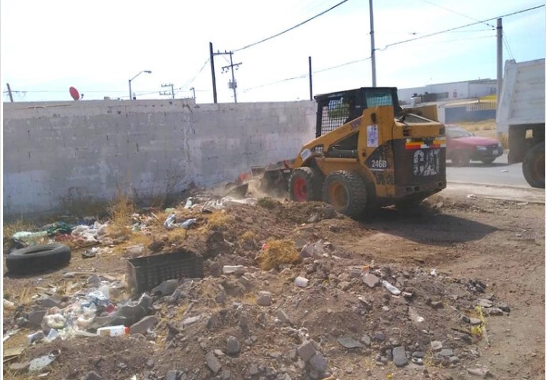 Atiende Municipio limpieza de lotes baldíos en la ciudad