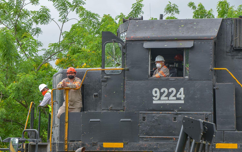 Da AMLO banderazo al tramo de Palenque a Tulum del «Tren Maya», se inaugurará en 2023