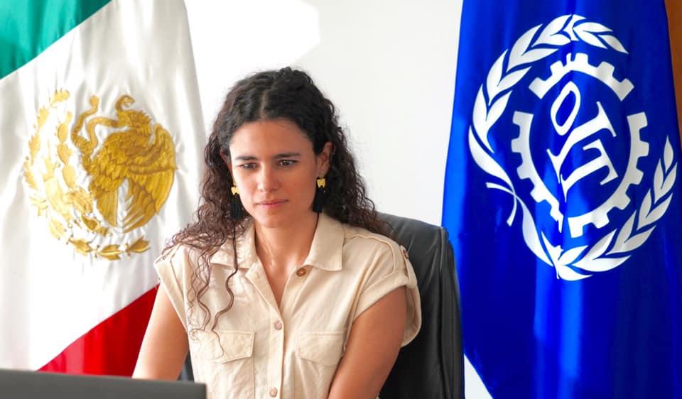 Refrenda Luisa Alcalde mejora de condiciones laborales de trabajadoras domesticas ante la OIT