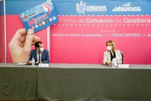 📹Maru Campos encabeza firma de convenio para otorgar descuentos a mujeres