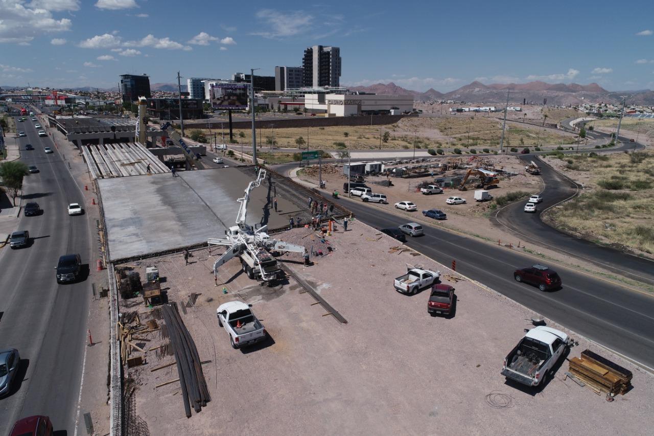 En agosto concluirán trabajos en puente en Valle Escondido