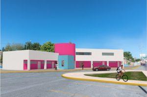 Gobierno Municipal construye la Casa de La Juventud en avenida La Cantera
