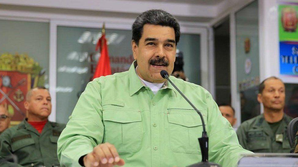 Denuncia Maduro persecución de Estados Unidos por compra de medicinas contra COVID19