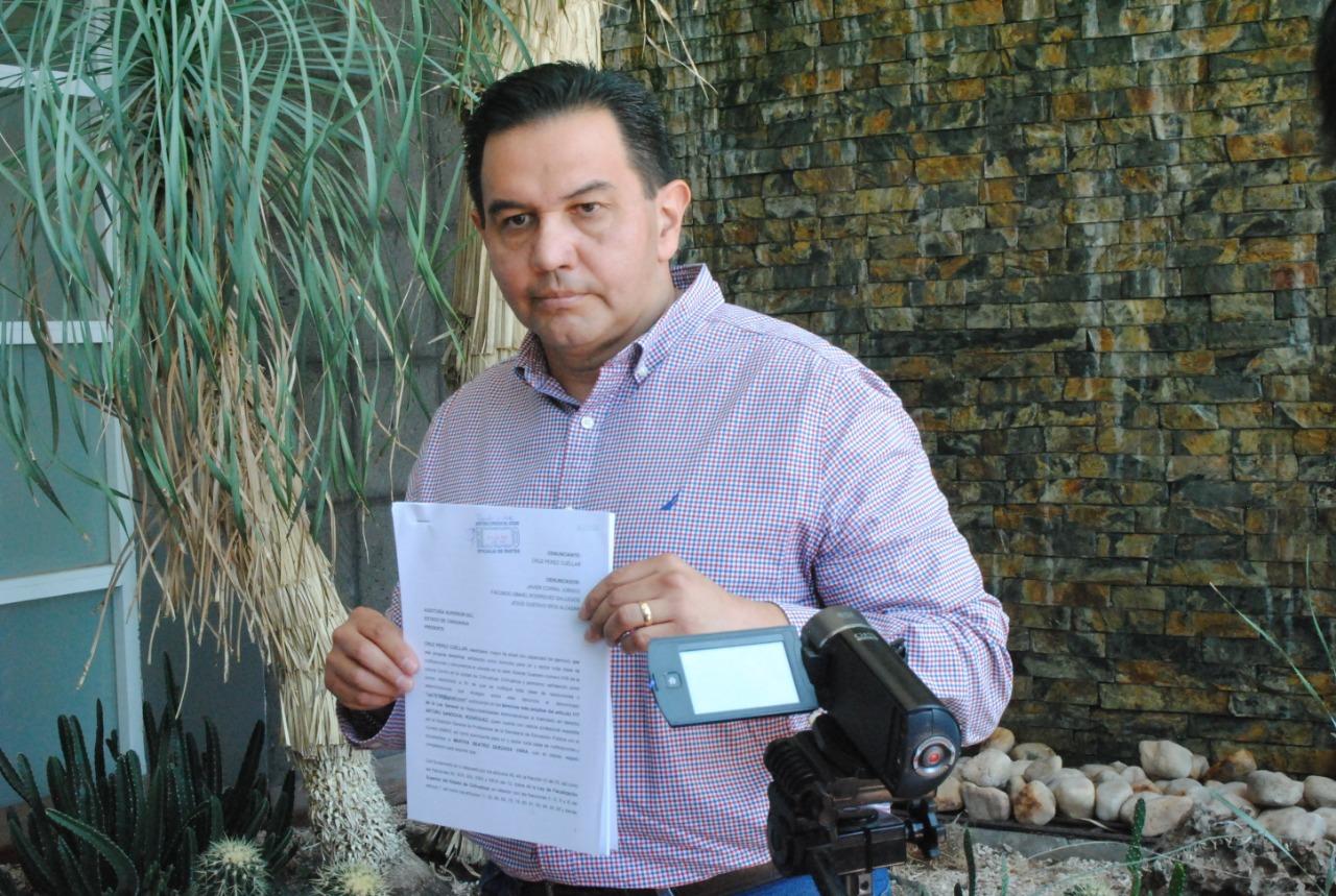 Por corrupción y tráfico de influencias en vuelos de Corral, presenta Pérez Cuéllar denuncia en la ASE