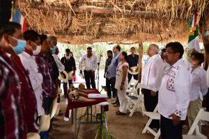 Con ocho Gobernadores Yaquis, firma AMLO acuerdo de Justicia por agua y tierra