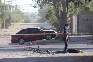 A balazos matan a ciclista en el Lombardo Toledano