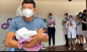 Recién nacida supera COVID-19 en el HGR No. 1 del IMSS en Yucatán