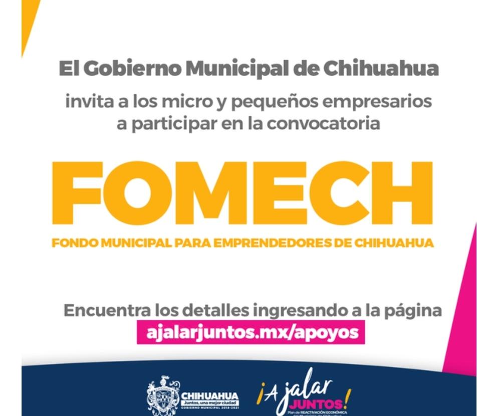 Abre Gobierno Municipal nueva convocatoria de créditos FOMECH