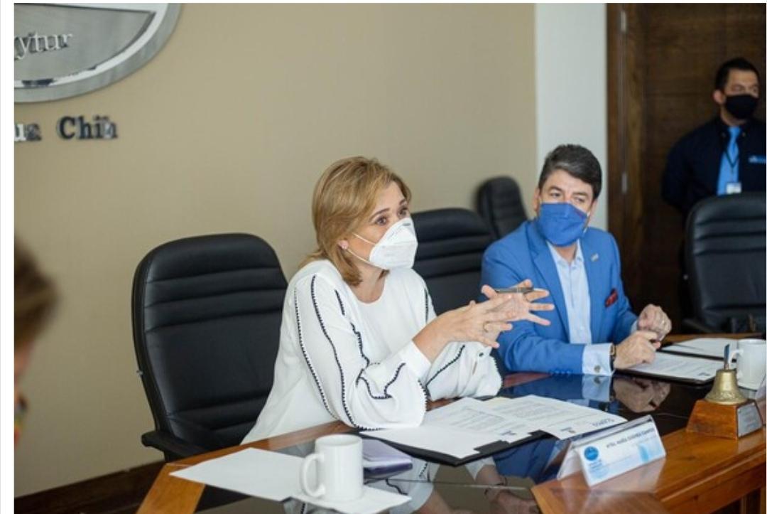 Se reúne Maru con miembros de CANACO para dar continuidad a revisiones de protocolos sanitarios por COVID-19