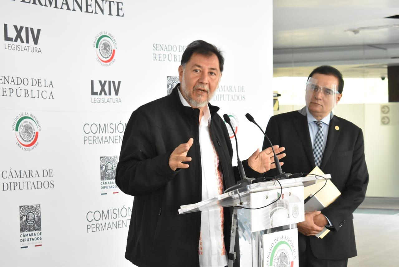 Anuncia Noroña que promoverá Consulta Ciudadana para enjuiciar a expresidentes el día de las elecciones
