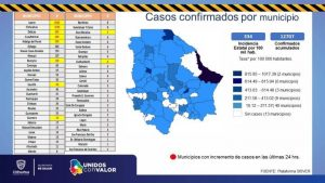 Llega Chihuahua a 12,707 casos de COVID-19 con el pico más alto de la pandemia
