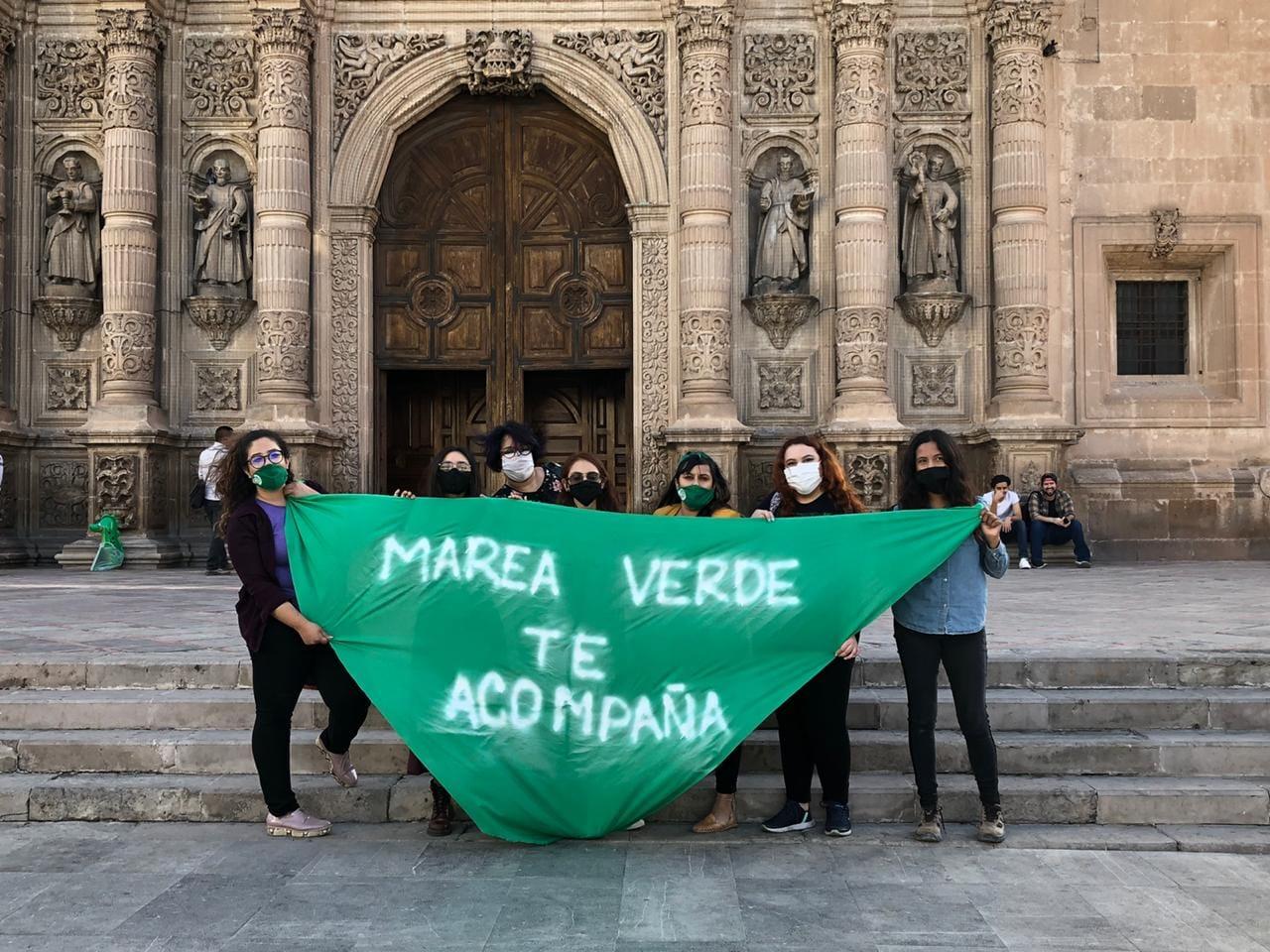 """Vergonzoso segundo lugar en Chihuahua en embarazo adolescente, exigen """"Marea Verde"""" despenalización del aborto"""