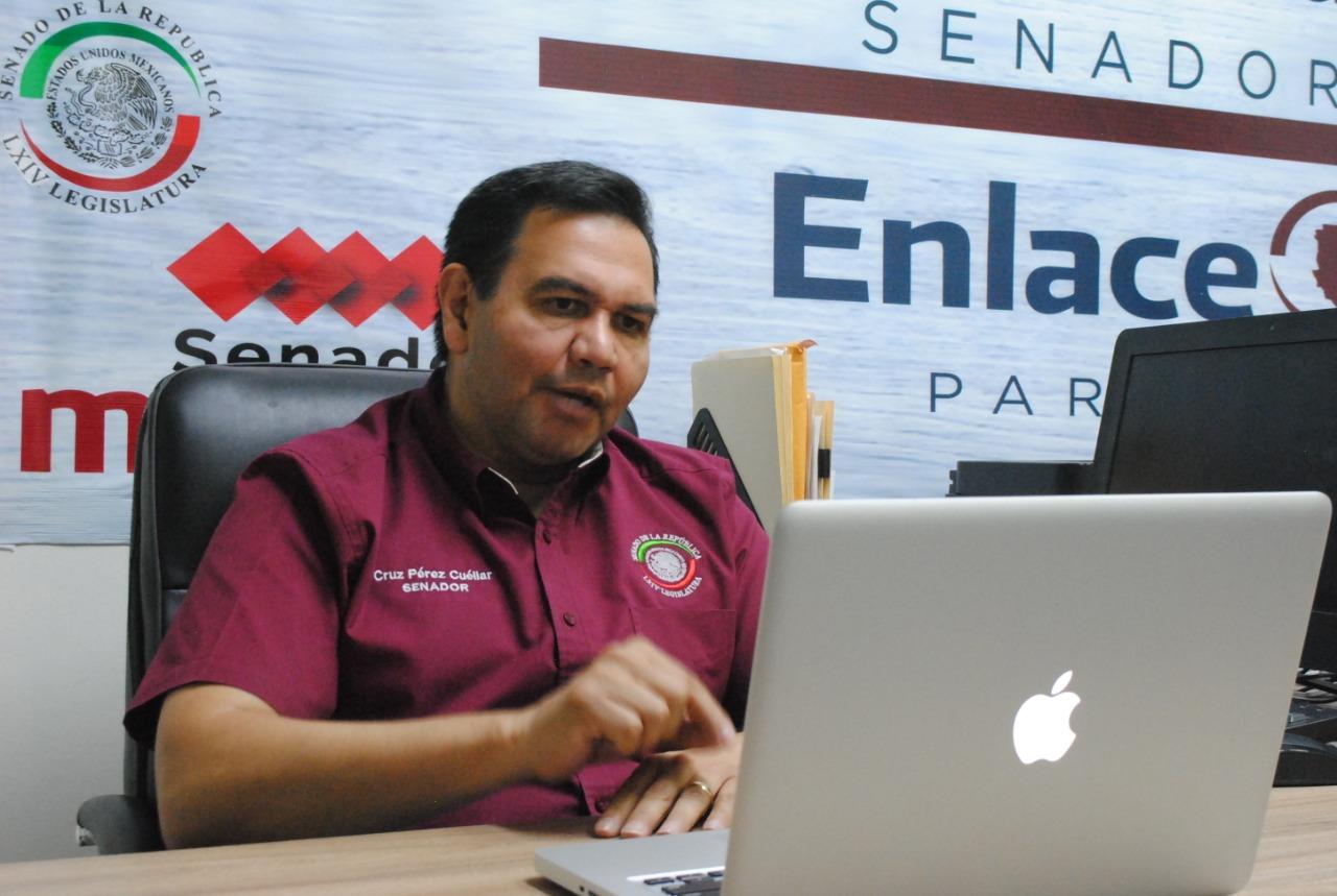 Repudia Pérez Cuéllar exclusión de delegado federal de Mesa de Seguridad