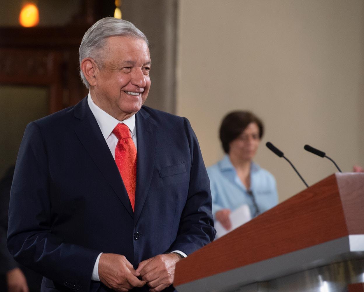 """""""Abasto de agua en el norte del país está garantizado"""", """"Tratado de 1944 beneficia a México"""": AMLO"""