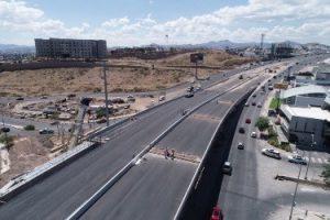 En 13 días acabarían obras del puente de Valle Escondido, dice Maru