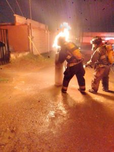 Reporte por lluvias atendidos por policías y bomberos
