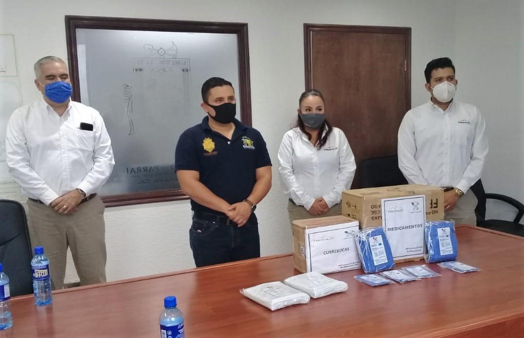 Se suma la minera Fresnillo a las acciones Municipales contra el COVID 19 en Parral