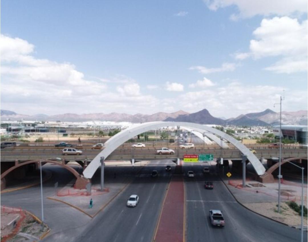 Avanza construcción de puente peatonal en avenidas Homero y Tecnológico