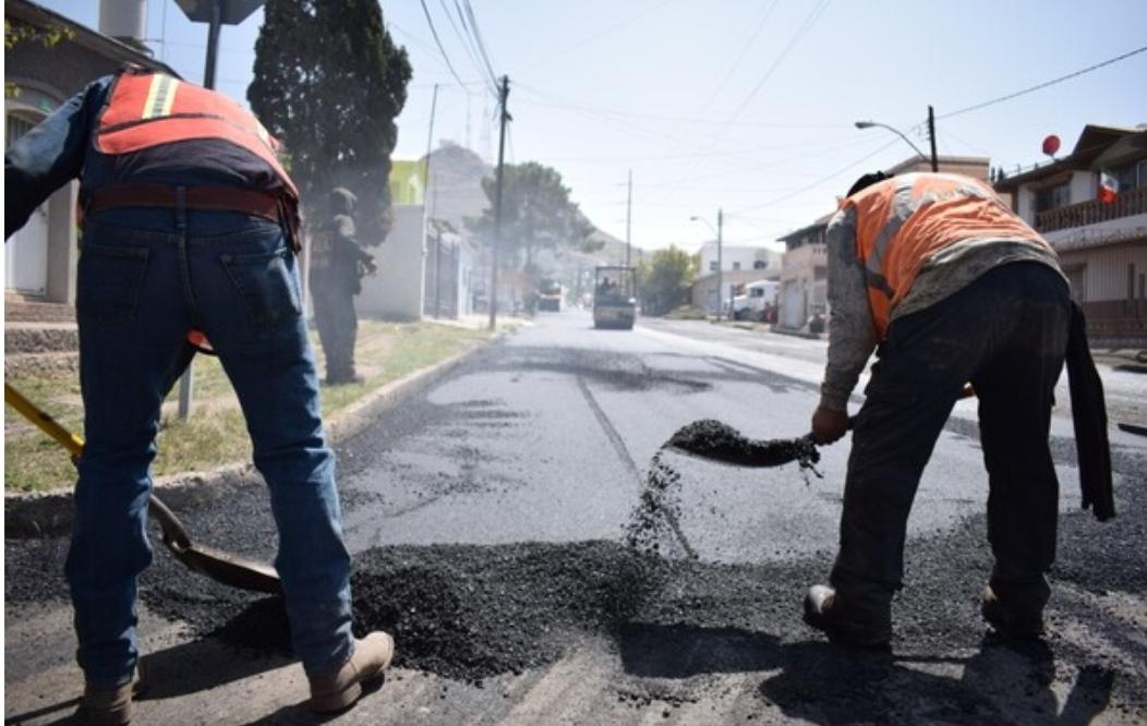 Finaliza Municipio trabajos de recarpeteo en calles de colonia Popular