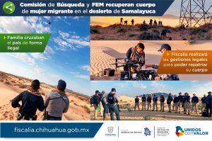 """Muere guatemalteca en el desierto de Samalayuca cuando buscaba """"el sueño americano"""""""