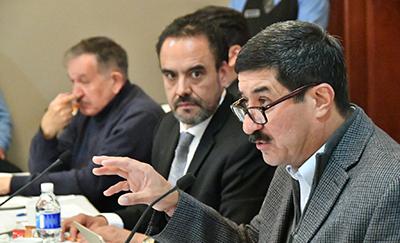 Excluye Corral a Delegado Federal de reuniones de seguridad