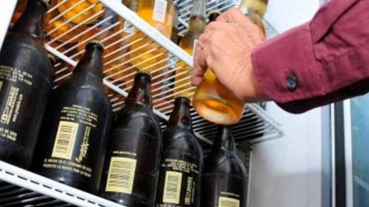 Venta de bebidas alcohólicas será hasta las 20:00 horas