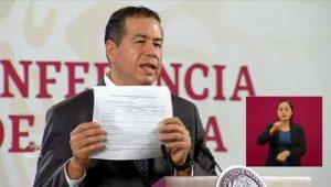 Javier Corral firmó en agosto entrega de agua a Estados Unidos, revelan