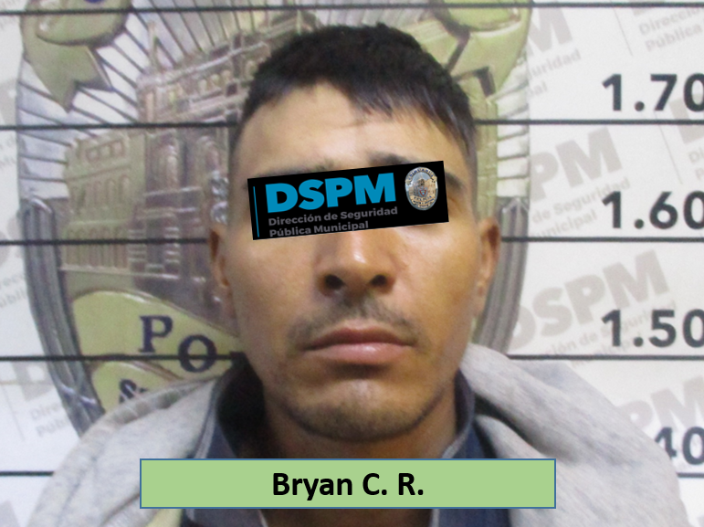 Cae el Bryan, es acusado de robo en una escuela