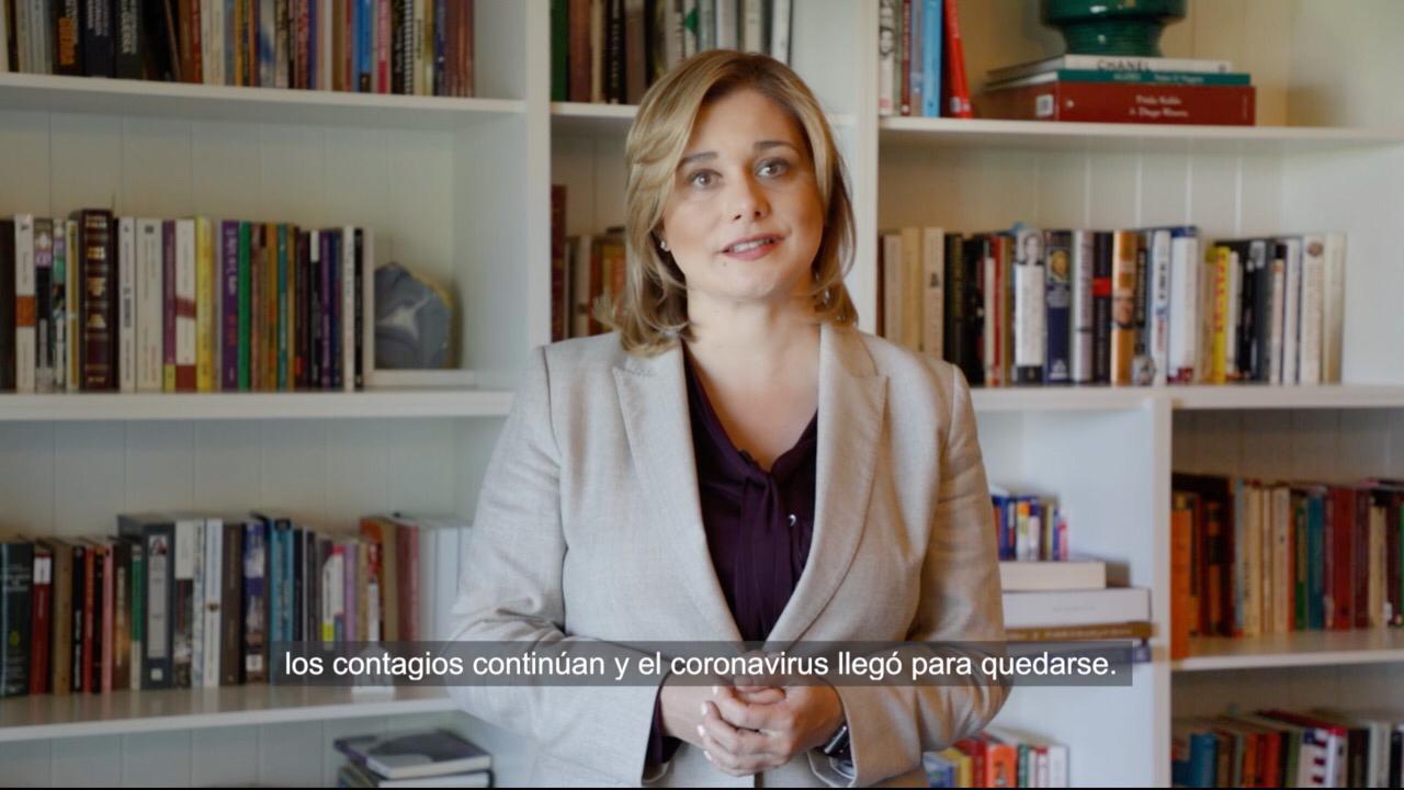 Pasar de naranja a amarillo no significa que abandonemos los cuidados: Maru Campos