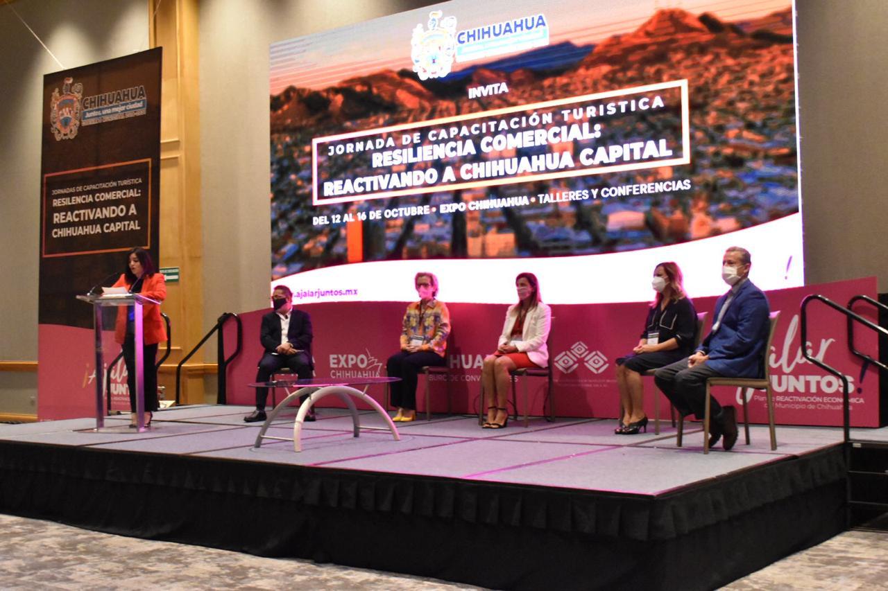Se realiza en Chihuahua Capital el 1er evento híbrido de turismo de reuniones en todo el país