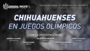 Olímpicos entablan charla con Tomás Aguilera del IMCFD