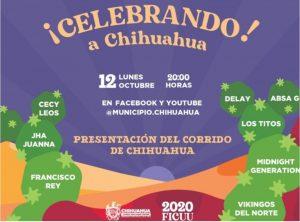Celebremos juntos 311 años de la ciudad de Chihuahua