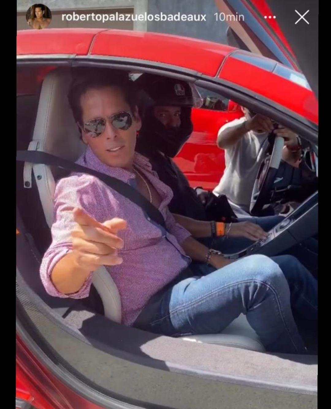 """Carlos Borruel Jr. le da un """"aventón"""" al """"Mirrey"""" Roberto Palazuelos"""