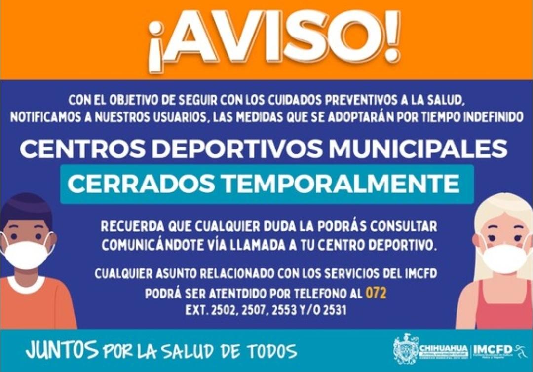 Semáforo naranja: Adiós a actividades deportivas; cerrarán centros deportivos