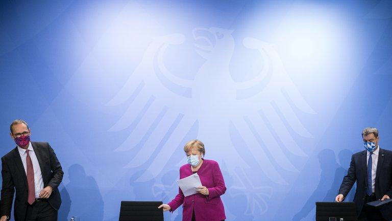 """Azota rebrote de COVID19 a Alemania, registran cifra histórica de contagios en un solo día, pide Merkel """"no rendirse al virus"""""""