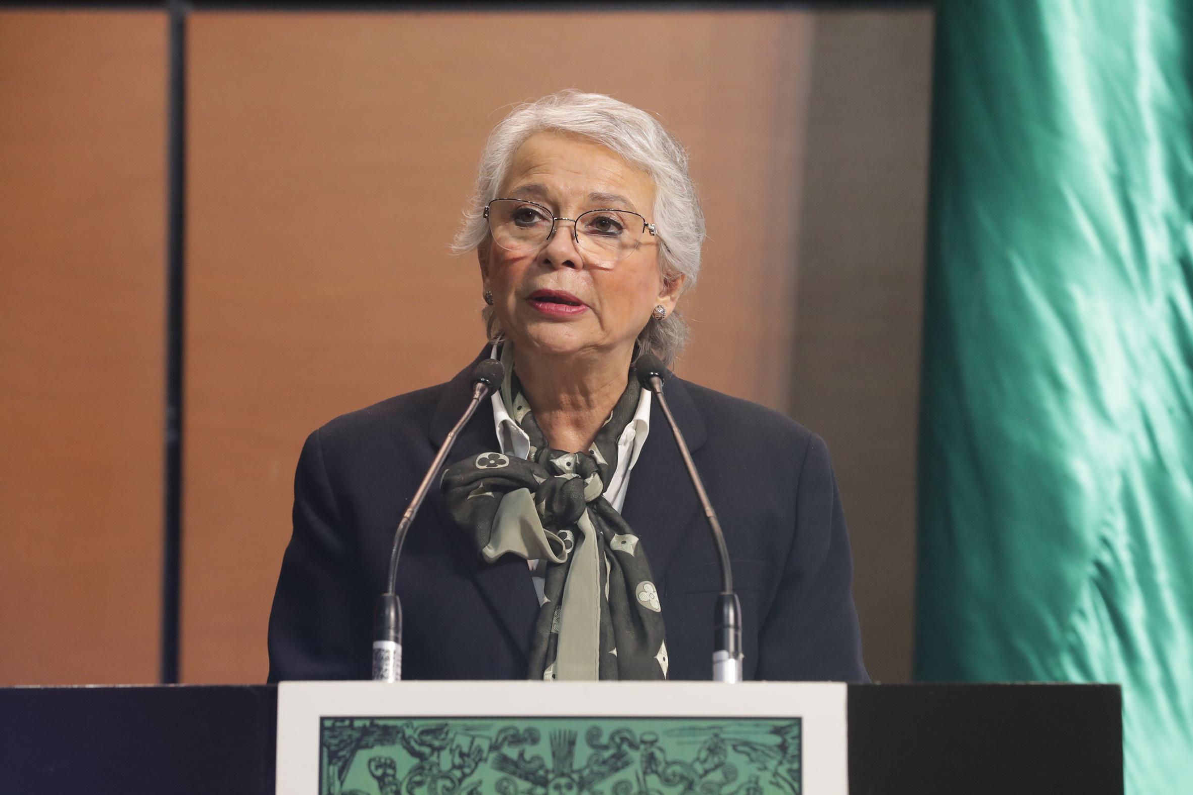 """""""El agua es de la nación"""" y las presas deben ser custodiadas por Guardia Nacional y Ejército """"son estratégicas"""": Olga Sánchez"""